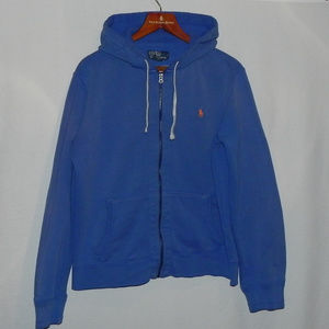 Polo by Ralph Lauren Sweaters - Polo Ralph Lauren Hoodie, Large, Blue